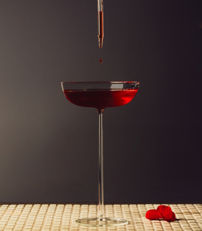 Cocktail Killer in Red - San Valentino