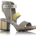 SOREL Addington Cuff lime e grigio