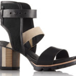 SOREL Addington Cuff nero e beige