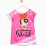 T-shirt maxi stampa The Powerpuff Girls