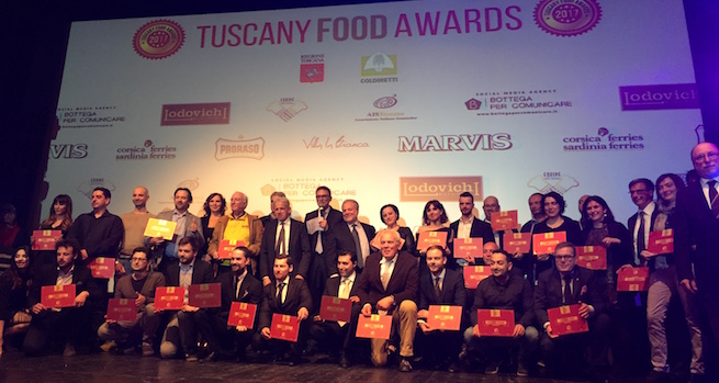 Vincitori dei Tuscany Food Awards 2017