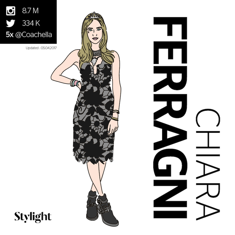Coachella Influencers - Chiara Ferragni - Stylight
