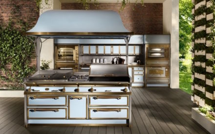 Cucine per esterni: Pacific Light Blue di Officine Gullo