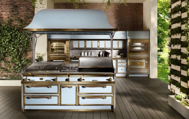 Cucine per esterni: Pacific Light Blue | Officine Gullo | Milady ...