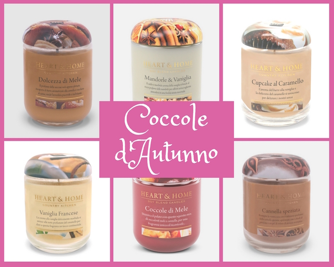 Heart and Home - Atmosfera autunnale - Candele casa