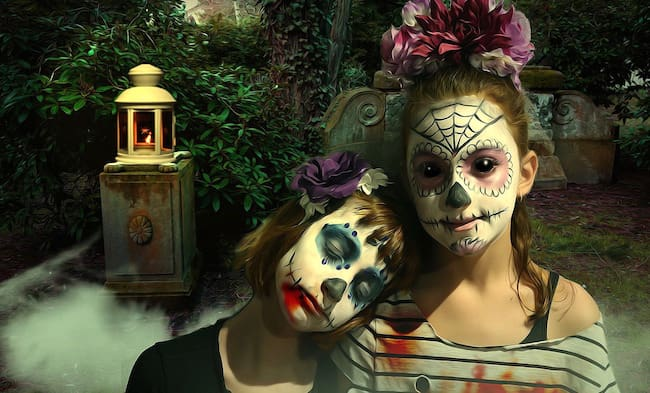 Halloween rischi make-up e lenti
