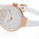 Orologi Hoops Cherie 160 Diamonds - Gold bianco