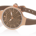 Orologi Hoops Cherie 160 Diamonds - Gold marrone