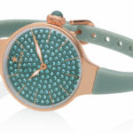 Orologi Hoops Cherie 160 Diamonds - Gold verde salvia