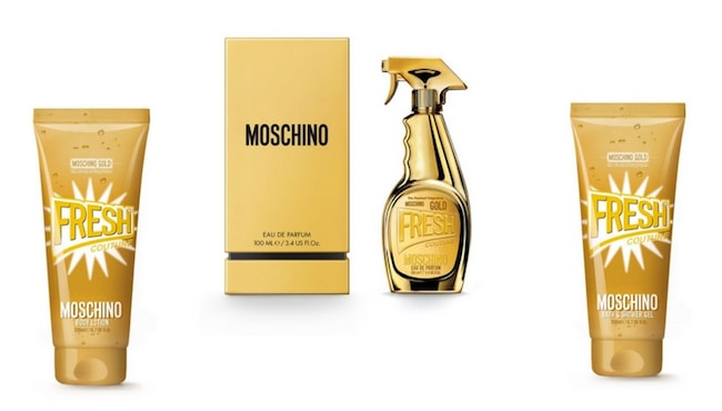 Profumo Moschino Gold Fresh Couture Clean Spray