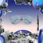Occhiali Ray-Ban Reinvented Aviator Mirror