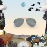 Occhiali Ray-Ban Reinvented Aviator Shooter