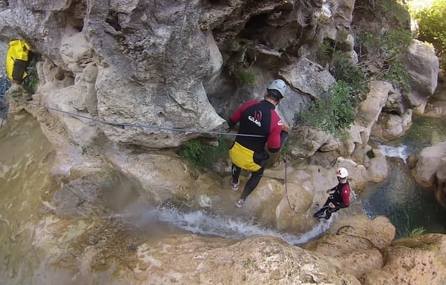 Canyoning in Toscana