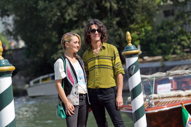 Francesco Motta e Carolina Crescentini a Venezia 75