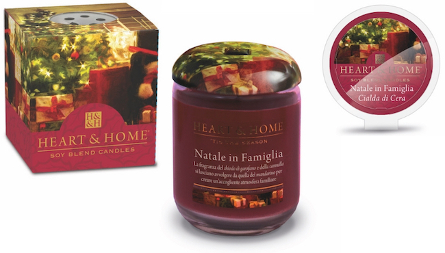 Candele di cera di soia Heart and Home scelta green