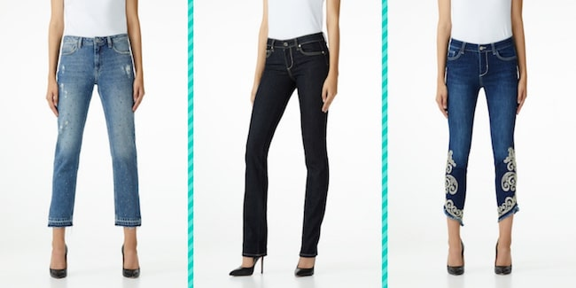Jeans donna Straight