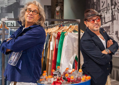 Pitti Uomo 95: Bruno Barbieri con Memory's Ltd