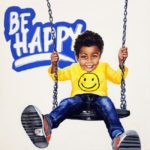 Be Happy, 40x40, acrilico su tela