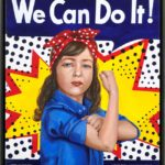 We can do it!, 60x70, acrilico su tela