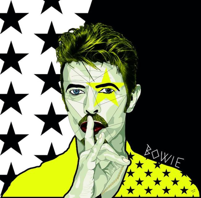 Mostra su David Bowie Far Above the Moon - Opera di Massimo Perna Bowie 19