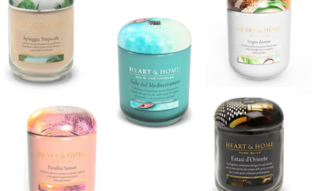 L'estate in casa con le candele profumate Heart & Home