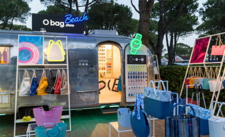 Il truck O bag per tutta l'estate 2019 a Union Lido
