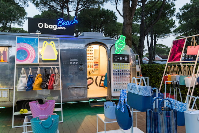 O bag glamping truck Union Lido - Estate 2019