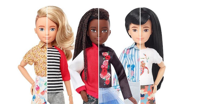 Creatable World -Mattel - Le bambole senza genere tipo Barbie