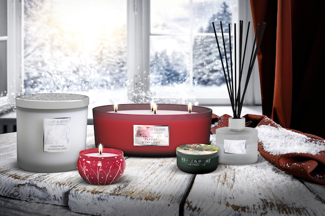 Candele profumata eco-friendly per Natale 2019